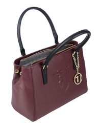 Trussardi - Purple Handbag - Lyst