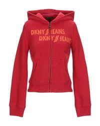 Felpa di DKNY in Red