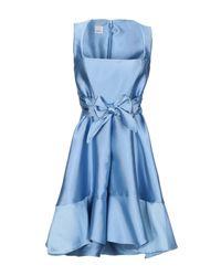 Pinko Blue Kurzes Kleid
