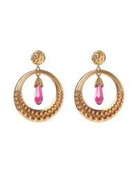 Roberto Cavalli Metallic Earrings
