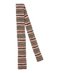 Prada - Brown Ties for Men - Lyst