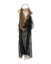 Vestito longuette di Yohji Yamamoto in Black