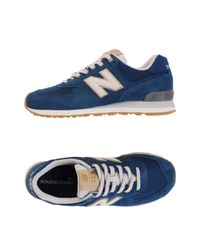 New Balance Blue Low-tops & Sneakers for men