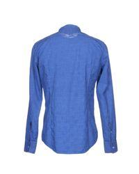 Massimo Alba - Blue Shirts for Men - Lyst