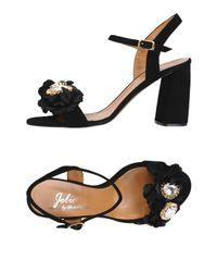 Jolie By Edward Spiers Black Sandale