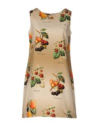 Shirtaporter - Multicolor Short Dress - Lyst