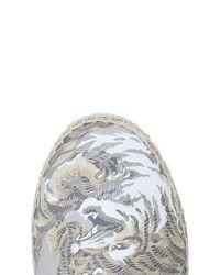 KENZO Gray Espadrilles