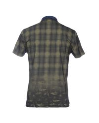 C P Company - Green Polo Shirt for Men - Lyst