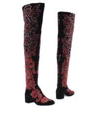 Alberta Ferretti - Black Boots - Lyst