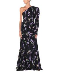 Robe longue Pinko en coloris Black