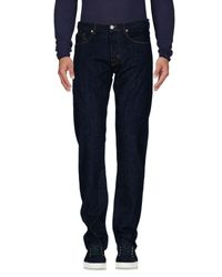 Pt05 - Blue Denim Pants for Men - Lyst