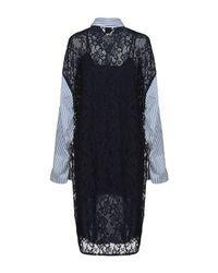 Pinko Blue Knielanges Kleid