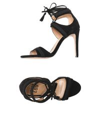 Bibi Lou Black Sandals