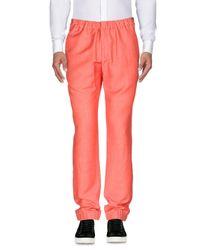 Giuliano Fujiwara Black Casual Pants for men