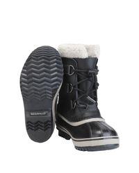 Sorel Black Ankle Boots