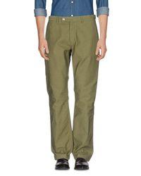 Battenwear Green Casual Pants for men