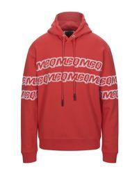 McQ Alexander McQueen Red Sweatshirt for men