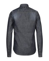 Philipp Plein Jeanshemd in Blue für Herren