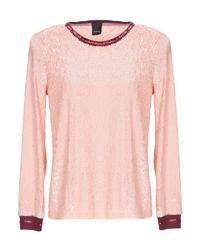 Blusa Pinko de color Pink