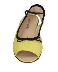 Collection Privée Yellow Sandals
