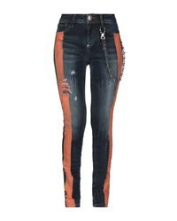 Pantaloni jeans di Philipp Plein in Blue