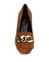 Casadei - Brown Loafers - Lyst