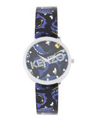 KENZO Black Wrist Watch