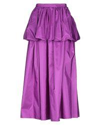 Jupe longue Stella McCartney en coloris Purple