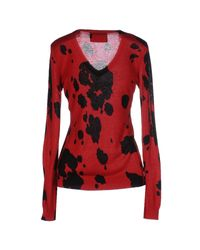 Boutique Moschino Red Sweater