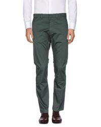 DIESEL - Green Casual Trouser for Men - Lyst