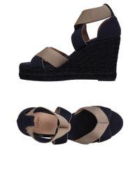 Castaner Blue Sandals