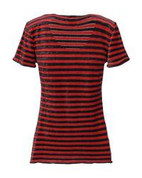 Camiseta Armani de color Red
