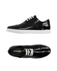 DSquared² Black Low-tops & Sneakers for men
