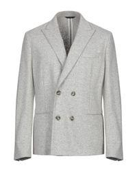 Paolo Pecora Gray Blazer for men