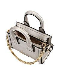 Karl Lagerfeld Gray Handbag