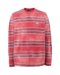 T-shirt Stussy pour homme en coloris Red