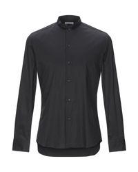 Camicia di Paolo Pecora in Black da Uomo