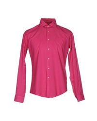 Liu Jo Purple Shirt for men