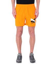 PUMA Shorts in Orange für Herren