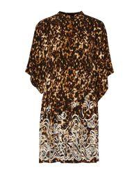 Roberto Cavalli Multicolor Kurzes Kleid