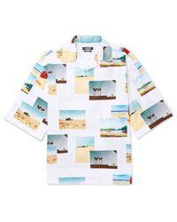 CALVIN KLEIN 205W39NYC Hemd in White für Herren