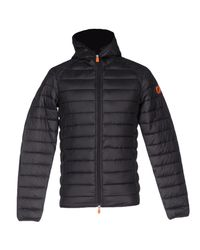 Save The Duck Black Jacket for men