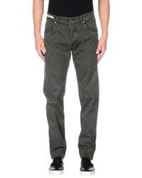 Bianchetti Gray Casual Trouser for men