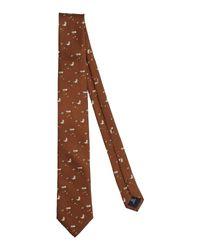 Cravatta di Tombolini in Brown da Uomo
