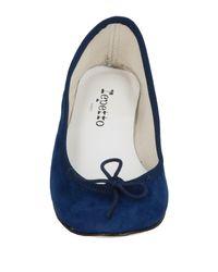 Repetto Blue Ballerina