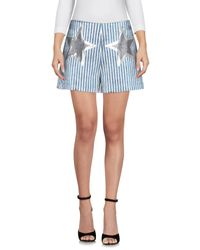 Shorts Giamba de color Blue