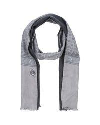 Dolce & Gabbana - Gray Oblong Scarf for Men - Lyst