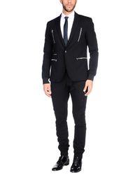 Philipp Plein Black Suit for men