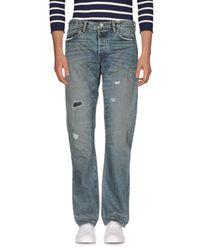 Ron Herman Blue Denim Pants for men