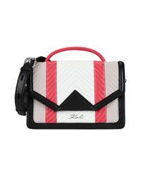 Borsa a mano di Karl Lagerfeld in Multicolor